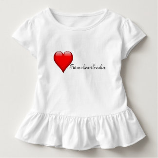 Girls' Valentine's Day dress/top Toddler T-Shirt