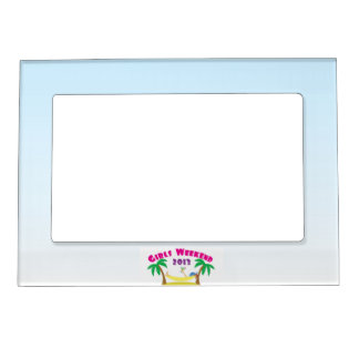 Girls Weekend 2013 Fridge Magnet Photo Frame Magnet