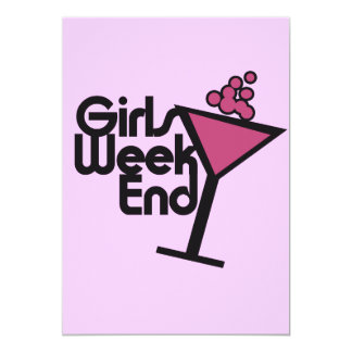 Girls Weekend Card