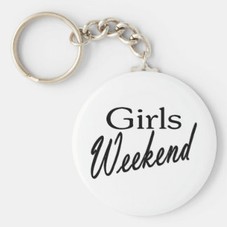 Girls Weekend Key Ring