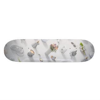 Girl's White Dream Skateboard Decks