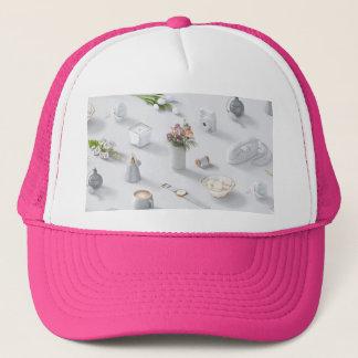 Girl's White Dream Trucker Hat