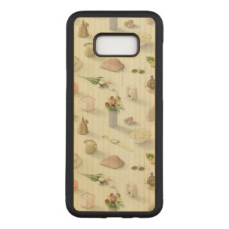 Girl's Yellow Dream Carved Samsung Galaxy S8+ Case