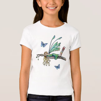 Girls Youth Fairy Butterfly T-Shirt