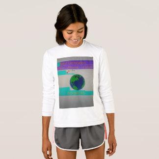 Girls/Youth Long Sleeve White T-Shirt Baby Boomer