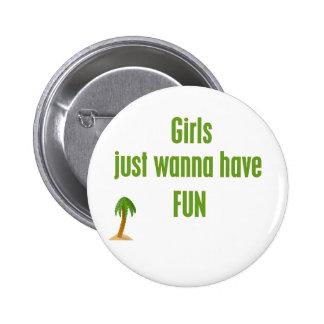 GirlsJustWannaHaveFUN Line Pins