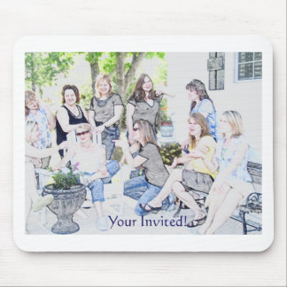 GirlsOinvite Mouse Pad