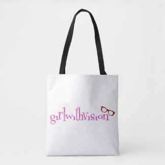 girlwithvision Tote Bag