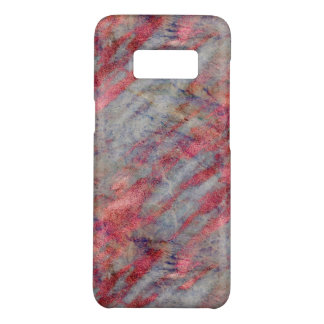 Girly Abstract Pink Gray Purple Marble Chic Case-Mate Samsung Galaxy S8 Case