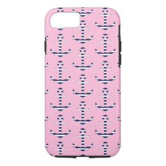 Girly anchor pattern iPhone 8/7 case