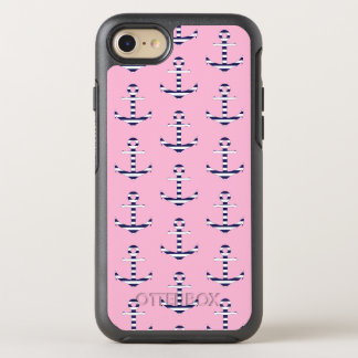 Girly anchor pattern OtterBox symmetry iPhone 8/7 case