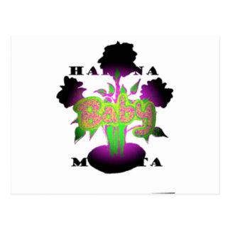Girly  Baby Hakuna Matata.png Postcard