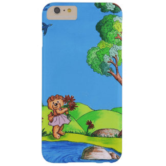 Girly Bear Barely There iPhone 6 Plus Case