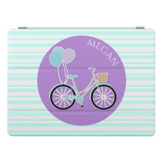 Girly Bike and Stripes iPad Pro 12.9 Smart Cover iPad Pro Cover