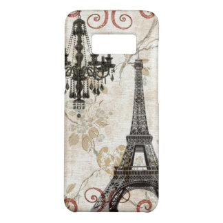 girly black chandelier paris eiffel tower Case-Mate samsung galaxy s8 case