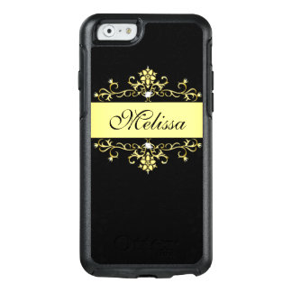 Girly Black Gold Vintage Otterbox iPhone 6 Case