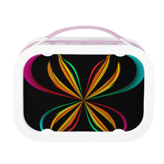 Girly Butterfly Lunch Box