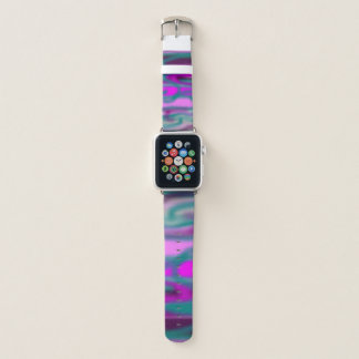 Girly Camouflage Apple Watch Band