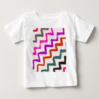 Girly Chevron Zigzag Stripes Pattern T Shirt