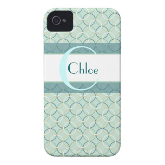 Girly Circles iPhone 4/4s Case-Mate Case