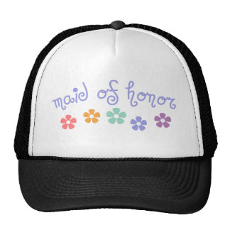 Girly-Cue Maid of Honor Cap