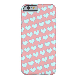 girly cute love hearts barely there iPhone 6 case