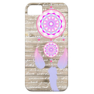 Girly Dreamcatcher Wood Pastel Colors iPhone 5 Covers