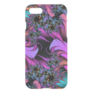 Girly Feathers Fractals iPhone 7 Case