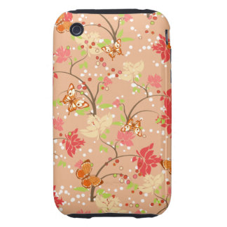 Girly Floral iPhone 3gs Case