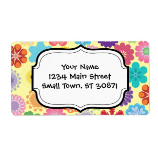 Girly Flower Power Colorful Floral Pattern Gifts