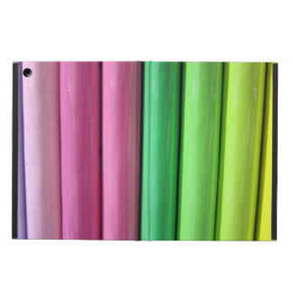 GIRLY FUN PINK PENCIL CRAYONS COVER FOR iPad AIR