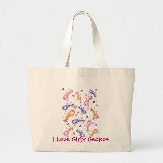 Girly Geckos Jumbo Tote Bag