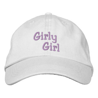 GIRLY GIRL cap Embroidered Hat