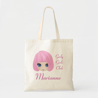 Girly Girl Marianne Custom Tote Bag