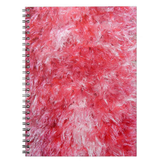 Girly Girl - Pink Faux Fur Notebook