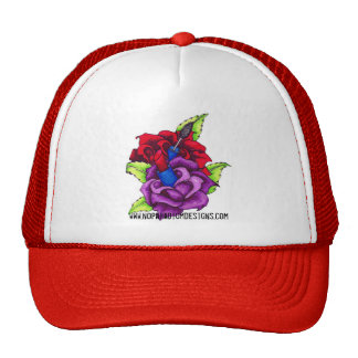 Girly Girl's Makeup Roses Hat