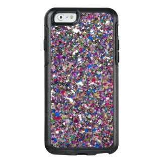 Girly Glitter Pink White OtterBox iPhone 6/6s Case