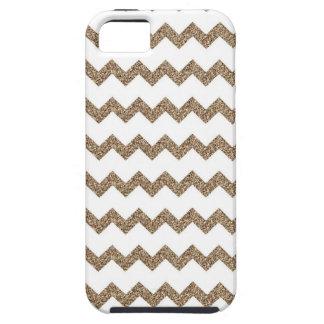 Girly Gold Glitter Tough iPhone 5 Case