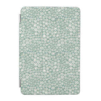 Girly iPad Cover - Green Circles