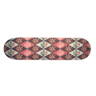 Girly Jellyfish Diamond Pattern Skateboards