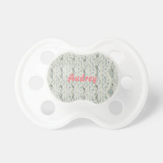 Girly Lace Personalized Pacifier
