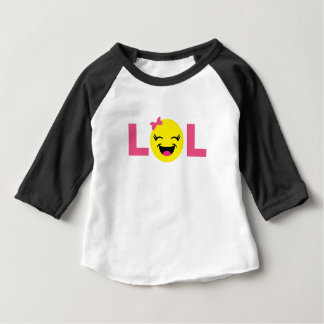 Girly LOL Emoji Baby T-Shirt