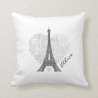 Girly Love Paris | Trendy Cushion