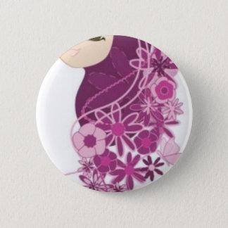 Girly Modesty 6 Cm Round Badge