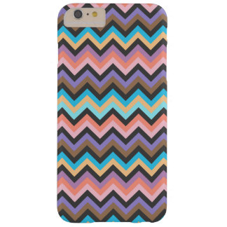 Girly Multicolor Chevron Pattern Barely There iPhone 6 Plus Case