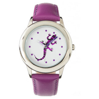 Girly Nature Gecko Watches