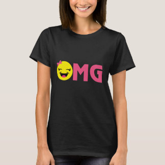 Girly OMG Emoji T-Shirt