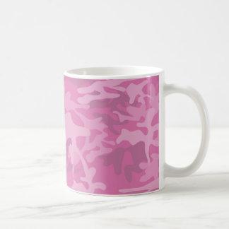 Girly Pink Camo Mug