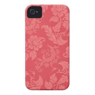 Girly Pink Damask iPhone 4 Cover