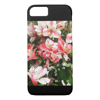 Girly Pink Flowers Phone Case